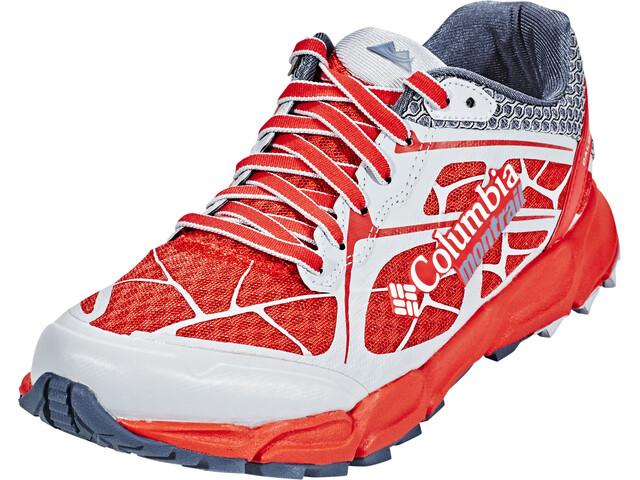 Columbia Caldorado II - Zapatillas running Mujer - rojo/blanco
